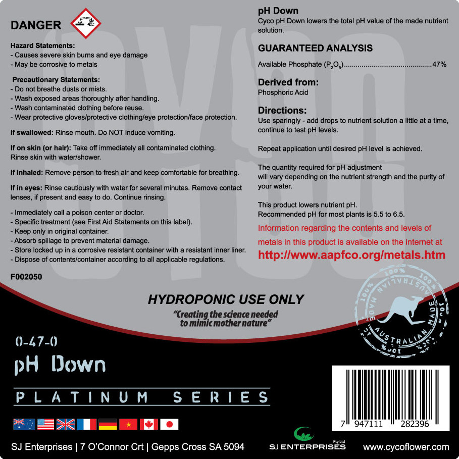 CYCO pH UP & DOWN | CYCO PLATINUM SERIES PHARMACEUTICAL GRADE NUTRIENTS
